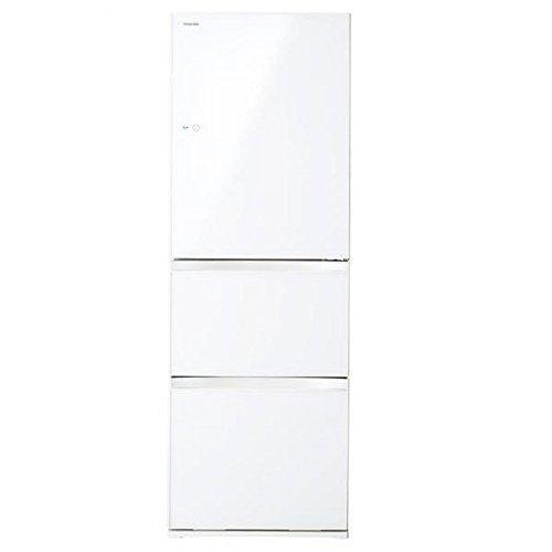 東芝 冷凍 冷蔵庫 380(L) 右開き GR-H38SXV(ZW) B00X6PW108  右開き