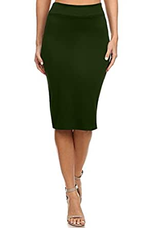 ff0afbd330bd2 Women s Below The Knee Pencil Skirt for Office Wear - Made in USA at ...