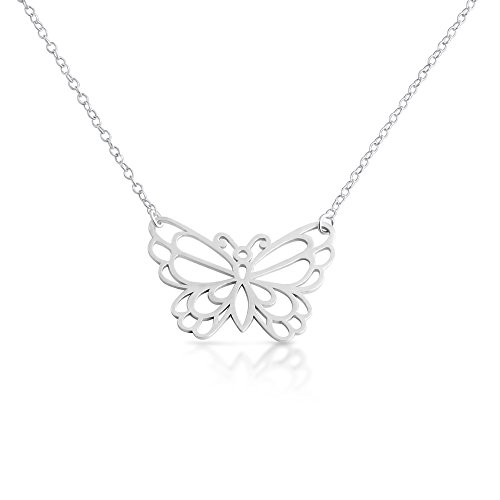 925-sterling-silver-open-outlined-monarch-butterfly-pendant-necklace-16-inches