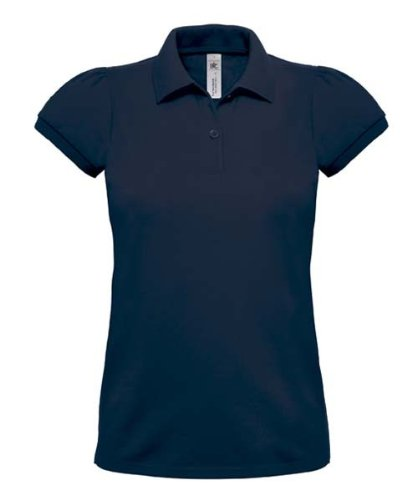 Heavymill Polo Ladies, Farbe:Denim;Größe:XL