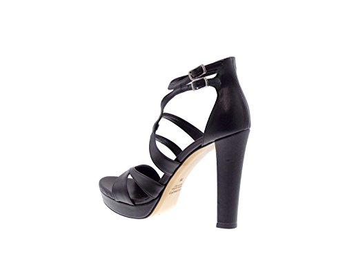 ALBANO - Sandalias de vestir para mujer negro