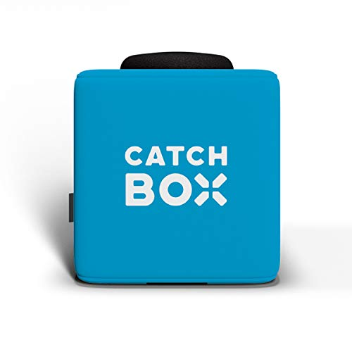 Throwable Microphone with 2-Sides Catchbox Graphics, Blue ()