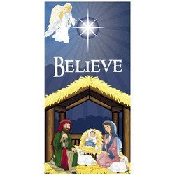 Door Nativity - 6' Nativity Scene