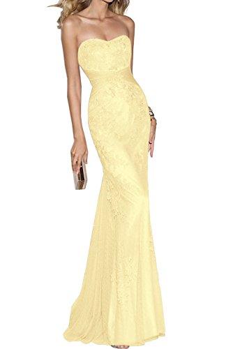 TOSKANA BRAUT - Vestido - para mujer amarillo
