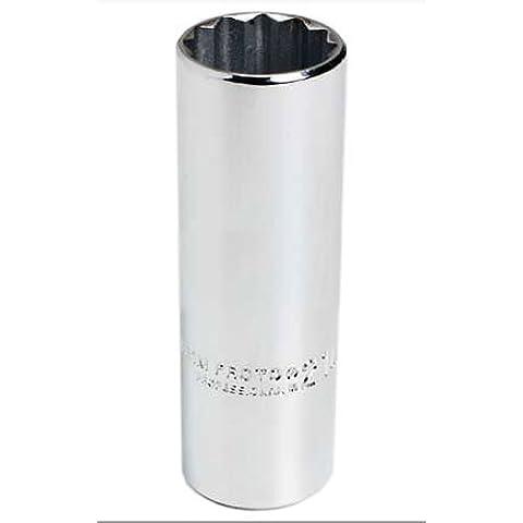 Stanley Proto J5325M 1/2-Inch Drive Deep Socket, 25mm, 12 Point - 25 Mm Socket