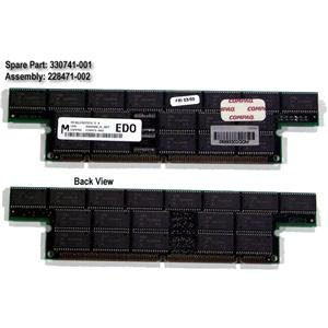 HP 330741-001 HP 330741-001 128MB128MB, ECC buffered, Extended Data Out (EDO) DRAM DIMM memory module ()