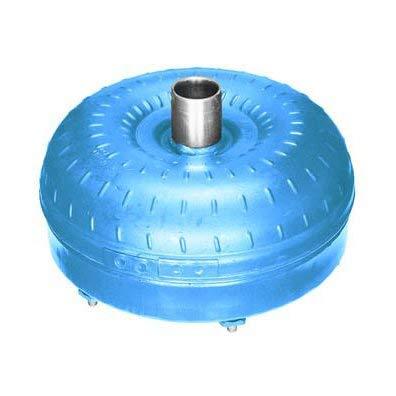 Recon Torque Converter, Multi Disc Lock-Up, 12.750'' Overall Diameter, 11.375'' Bolt Pattern, 6 Studs, 3/8 x 24 Thread, Milled Flats Hub, 1.375'' Pilot Diameter, 31 Splines, 1500-1700 Stall Speed