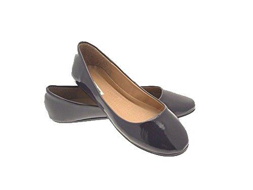 Size 8 Flat Pumps Womens Lora Ballerinas Dora Ballet 3 Purple SqXAxf0