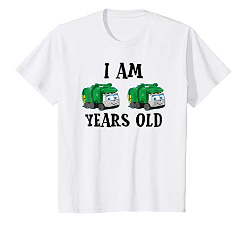 (Kids Garbage Trucks 2 Years Old Kids Birthday Party Costume)