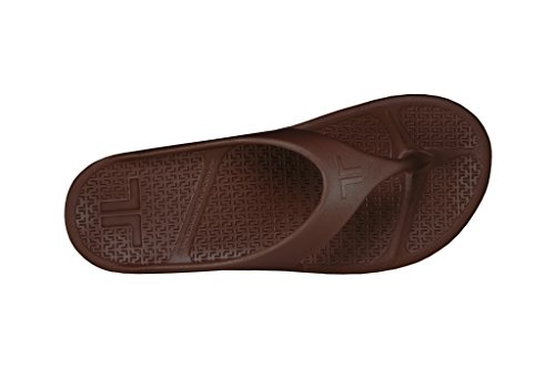 Brown Made Telic Women's Flip Sandal Flop Fashion Espresso The in USA FvRRBUS
