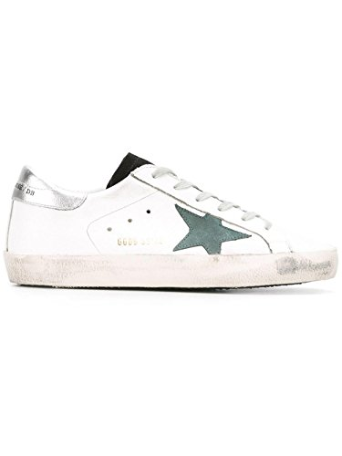 GOLDEN GOOSE DAMEN G30WS590F54 WEISS LEDER SNEAKERS