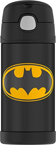 Thermos F4014BM6 Funtainer Botella de 340 ml, Batman, acero inoxidable