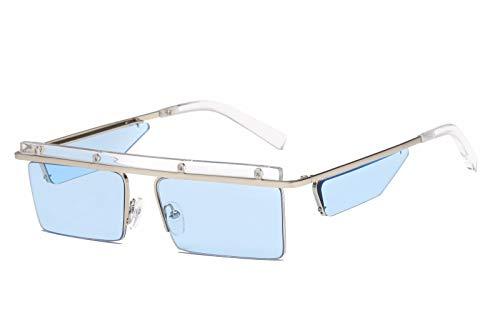 Mujer C de de Personalidad C de Sol Hombre Intellectuality Gafas Retro Gafas Ojos Sol polarizadas 8SwOqXx