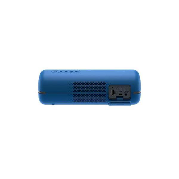 Sony SRS-XB32 Enceinte Portable Bluetooth Extra Bass Waterproof avec Lumières - Bleu 5