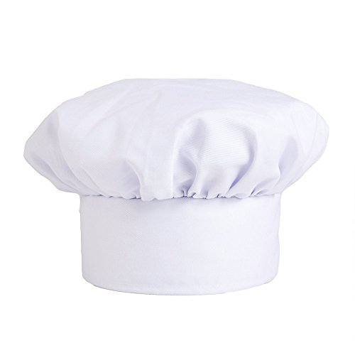KNG Traditional Chef Hat, White