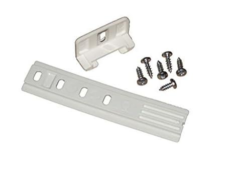 1 Pieza Kit de Montaje Deslizante de Bisagra para Puerta de Refrigerador Inet-Trades GmbH