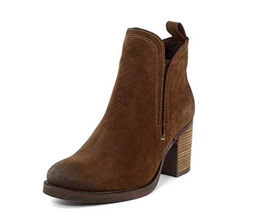 (Bos. & Co. Womens Belfield Tan Oil Suede Boot - 37)