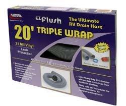 20' Triple Wrap Sewer Hose - 20' Heavy Duty Sewer Hose
