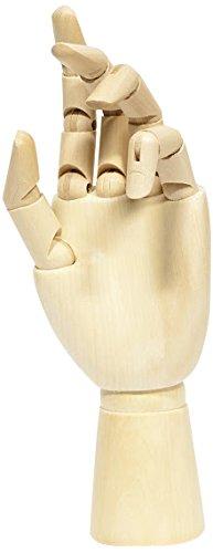 Jack Richeson 710223 10'' Right Hand Female Manikin by Jack Richeson