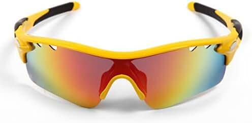 Hulislem Blade Sport Polarized Sunglasses -Case Color May Vary