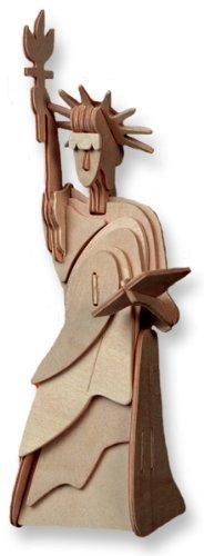 独特な店 puzzle bois en bois à dimensions trois dimensions à - petite statue de la liberté B004QDXOZU, 鹿沼市:e896dee0 --- quiltersinfo.yarnslave.com