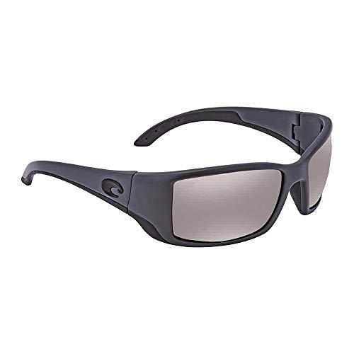 Costa Del Mar Blackfin Sunglasses Matte Gray/Copper Silver Mirror 580Plastic (Z87 Costa Del Mar)