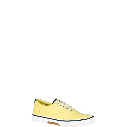 (SPERRY Men's, Halyard Sneaker Nautical Yellow 13 M)
