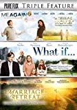 DVD - Triple Feature-Marriage Retreat/Me Again/What If