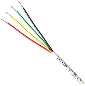 White 500 Honeywell Genesis 11035801 22//4 Solid Unshielded Cable