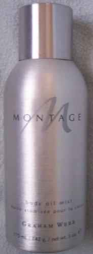 Graham Webb's Montage Body Oil Mist 5 oz. Spray