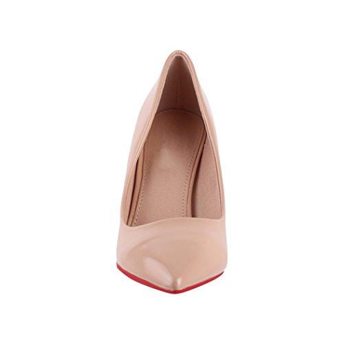 Classique talons soirée dentelle Chaussures Paris escarpins femmes hauts Beige Srp1xqSwt