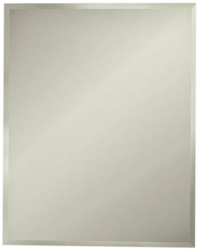 Jensen 1453ADJ Horizon Frameless Medicine Cabinet with Beveled Mirror