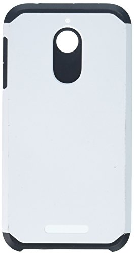 MyBat Asmyna HTC Desire 510 Astronoot Phone Protector Cover  - Retail Packaging - White/Black