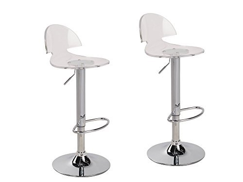 Clear Acrylic Bar Stools: Amazon.com