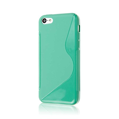 iPhone 5C Case, MPERO Flex S Series Protective Case for Apple iPhone 5C - Mint Green (Iphone 5c Att Case)