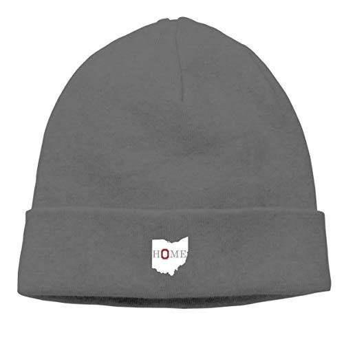 MIPU SHANGMAO Home In Ohio State Beanie Cap Soft Warm Hat Hedging Caps Wool Cap Men Women