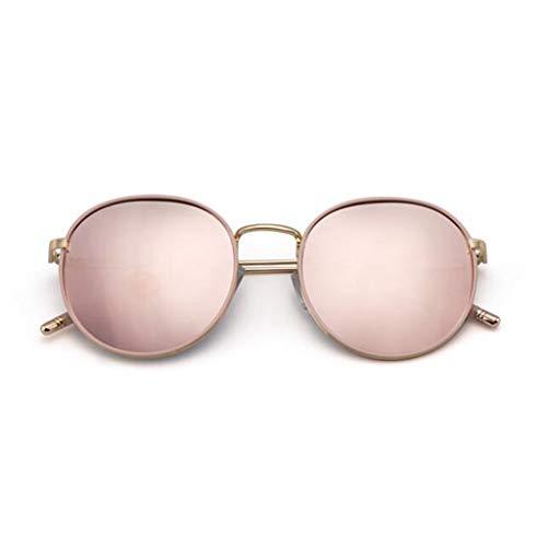 Style Lunettes 2019 Dark De Et Rondes Pink Femmes Polarisées Pour Soleil Green Américain color Volant Au Européen Yiwu 4v5BwqB