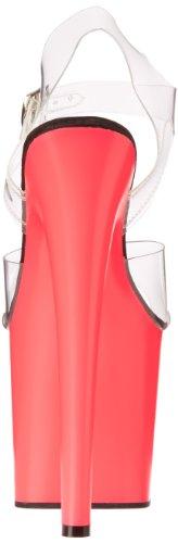Pleaser - Sandalias mujer, color rosa, talla 40