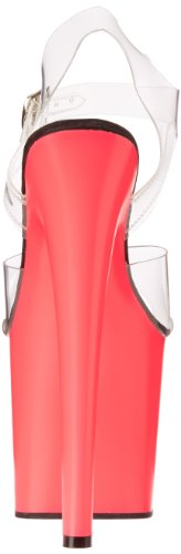 Mujer Pink Rosa Pleaser Clr neon Sandalias Y65xqgv