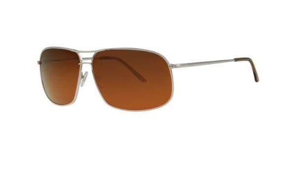 revex polarizadas deportivo Hombre Gafas de sol de metal flexible Muelle bisagra para planchar con gafas Bolsa Braun Goldener Rahmen talla única: Amazon.es: ...
