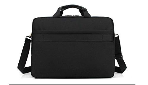 Fen negocio bolsa de ordenador hembra Nailon resistente al agua a prueba de golpes 15Inch, 17pulgadas portátil bolsa hombres bolso bolsa de hombro morado morado 15inch negro