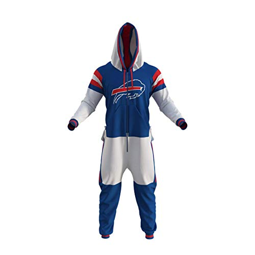 Buffalo Bills NFL Adult Onesie (Medium) Blue