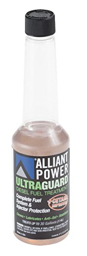 Alliant Power ULTRAGUARD Diesel Fuel Treatment - Case of 24 1/2 Pints # AP0500 by Alliant Power