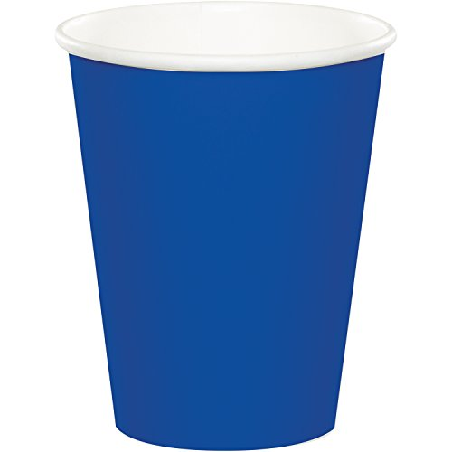 Creative Converting 563147B HOT/Cold Cups, 24-Pack, Cobalt