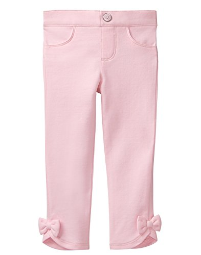 Gymboree Baby Girls Knit Pant with Bow Accent, Petal Pink, 3T ()