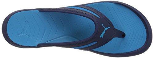 Puma Mens Wild Flip Sandalo Atletico Peacoat-blue Danube