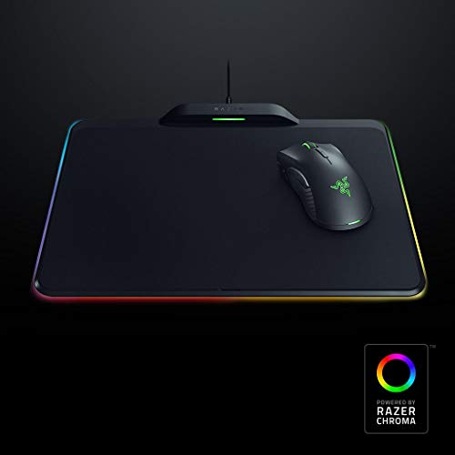 Razer Mamba Mouse and Firefly Gaming Surface HyperFlux Bundle