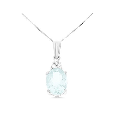Diamond 14k Square Pendant - 2