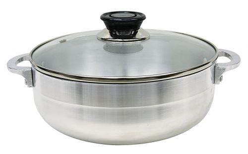Stock Pot withガラス蓋サイズ: 10.3リットル B0052SWKUI