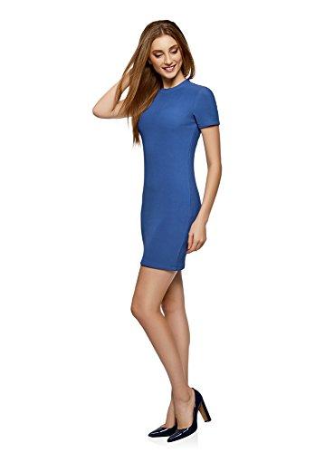 Maille Bleu oodji Courte 7500n en Ultra Robe Manche Femme 0v1OzUIwq